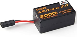 Jian Ya Na Ad alta densità 2000mAh 11.1V potente Li-Polymer batteria del rimontaggio per Parrot AR.Drone 2.0 quadcopter Ag...