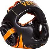 Venum Challenger 2.0 Headgear Black/Neo Orange, One Size