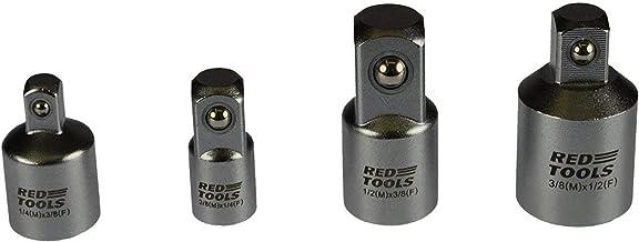 Red Tools RT20406 Zestaw Adapterów, 4 Elementy