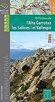 El Pirineu de l'Alta Garrotxa les Salines i el Vallespir 1:50 000: Wanderkarte