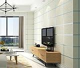 Papel pintado no tejido Flocado Moderno Simple Rectangular Plaid-Beige,Papel Pintado,Pegatinas murales,para Cocina,Dormitorio,Sala de Estar0.53m*9.5m