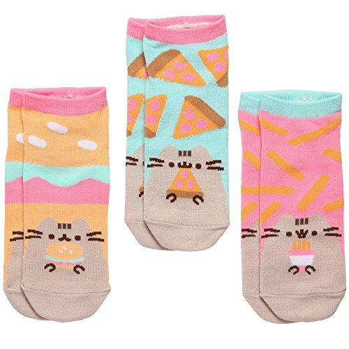 Pusheen The Cat Fast Food Süße Socken für Damen und Mädchen, Gr. 38-42