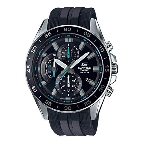 Casio Edifice Efv-550P-1Av Efv550P-1Av Reloj cronógrafo de cuarzo para hombre