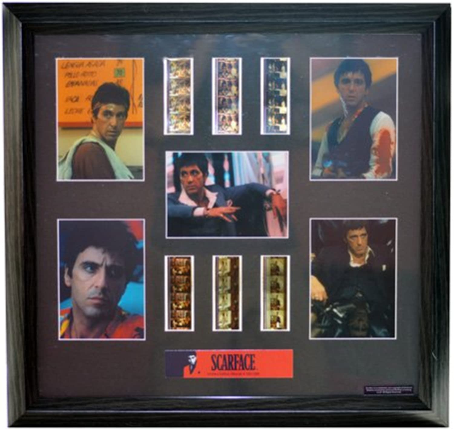 Scarface Film Cell MONTAGE Ltd Ed. FC2200  NEW