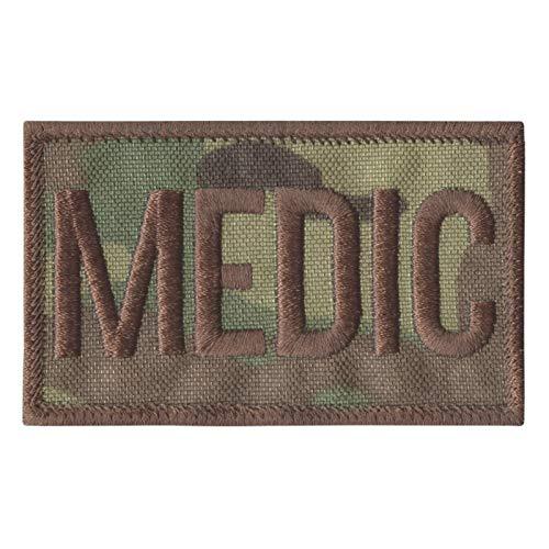 2AFTER1 Multicam Medic EMS Paramedic Combat Med EMT Medical Tactical Morale Fastener Patch