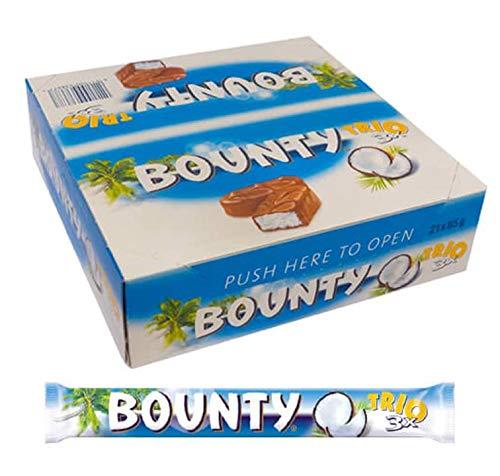Bounty Trio - Schokoriegel - Kokosriegel - 21x (3x28,5g)