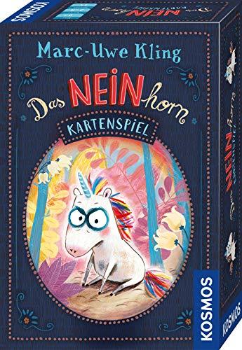 KOSMOS 680848 Das NEINhorn - Kartenspiel, Das Spiel zum bekannten Kinder-Buch, lustiges Kinderspiel ab 6 Jahre, für 2 bis 6 Spieler, in praktischer Magnet-Box