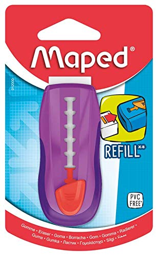 Maped Universal Protective and Refillable Gom Stick Pink