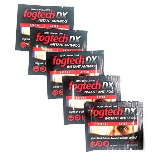 FogTech MotoSolutions DX Anti-Fog Wipes
