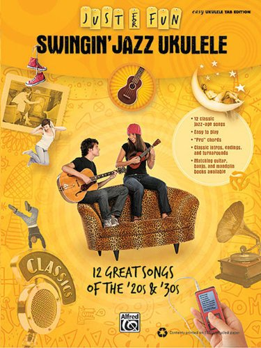 Alfred Swingin' Jazz Ukulele - Easy Ukulele Tab Edition