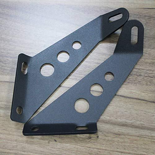 Wotefusi LED Light Bar Capot Supports De Montage pour Jeep Wrangler Vus 07-16