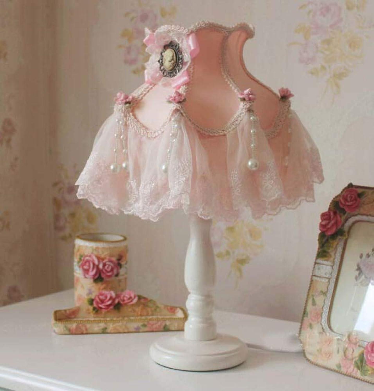 Tischlampe Garten Spitze Stoff Prinzessin Schlafzimmer verstellbare Tischlampe