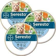 3PACK Seresto Flea Tick Collar for Cats