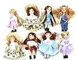 12 x Porzellanpuppe Puppe aus Porzellan mit beweglichen Gliedern mehrfach sortiert