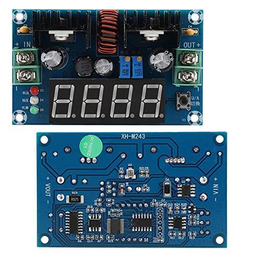 Denash Lademodul, LED-Treiber XH-M243 mit Konstanter Spannung und Reduzierter Spannung Lademodul mit Digitalanzeige