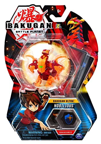 BAKUGAN Deluxe 1 Pack 3 Inch Figure Nobilious