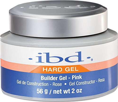 IBD Nail Treatments pink Builder Gel, 1er Pack (1 x 56 ml)