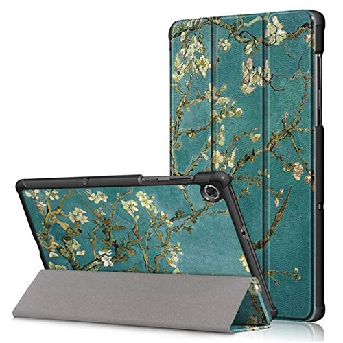 MTP-Products Tri-Fold Series Lenovo Tab M10 HD Gen 2 Smart Folio Case - Flowering Tree