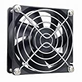 Wathai 80mm x 25mm 12V 2Pin DC Brushless Cooler Cooling Fan