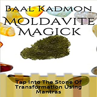 Moldavite Magick audiobook cover art