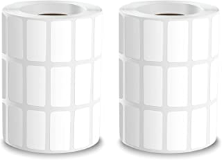 برچسب ظروف ذخیره سازی نقاشی الماس TiGilt-برچسب برچسب سفید مستطیلی بسته 2 عددی برای لوازم جانبی نقاشی الماس ، مهره ها-برچسب های قابل نوشتن با چسب برای نام ، شماره