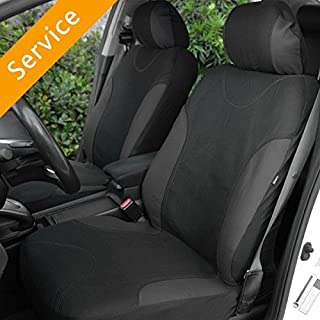 Automotive Seat Cover Installation