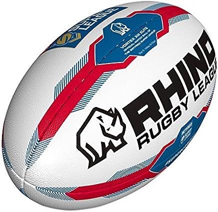 b7ff4d06e418e Rhino Rugby Betfred Super Ligue 2017 Réplique Officiel Rugby Ballon De La  Ligue