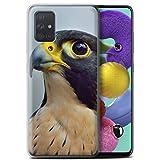 Stuff4 Phone Case for Samsung Galaxy A71 2020 Birds of Prey
