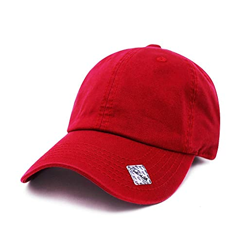 d04090b7c ChoKoLids Cotton Dad Hat Adjustable Blank Cap Low Profile Unstructured Polo  Style