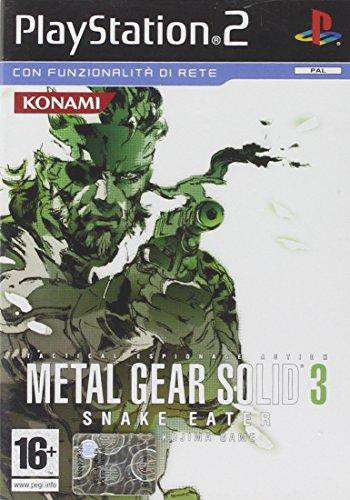 Konami Metal Gear Solid 3: Snake Eater, PS2