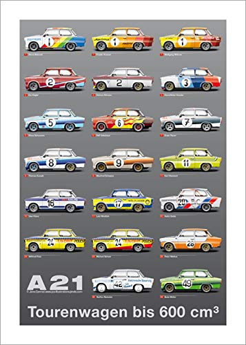 jco-illustrations Poster Trabant Tourenwagen A600