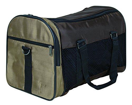 Trixie 28873 Tasche Samira, 31 × 32 × 52 cm, braun/beige