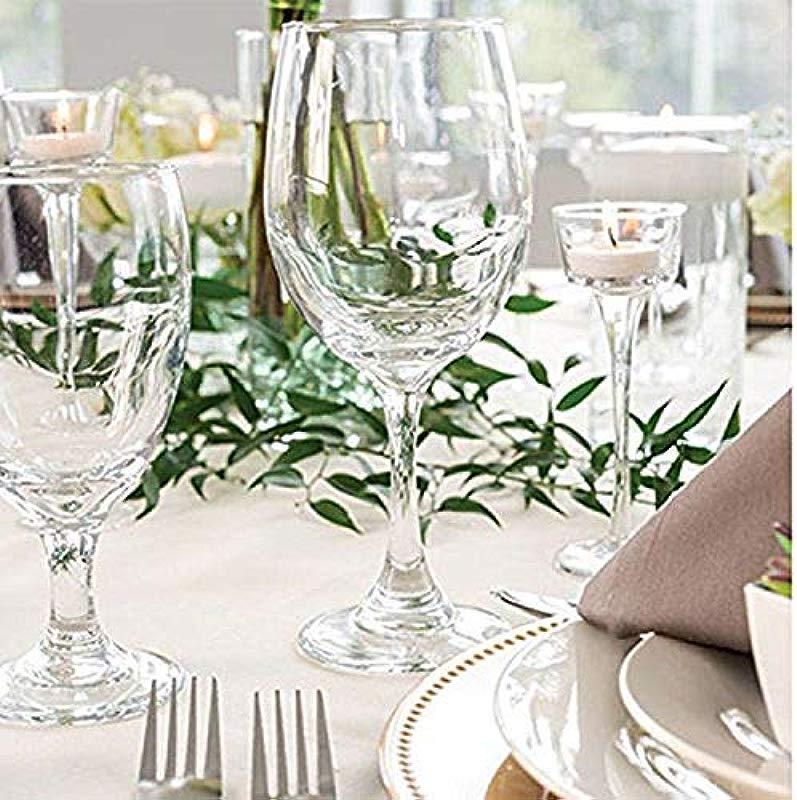 Libbey Perception Glass Stemware White Wine 20 Oz Clear 12 Carton