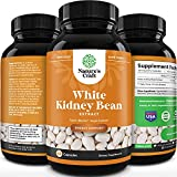 Pure White Kidney Bean Extract - AMPK Activator Pre Workout for Men and Women Natural Energy Supplement - Daily Fiber Supplement for Digestive Health and Energy Boost with Molybdenum and Amino Acids