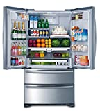 Smad 36' French Door Refrigerator 2 Drawer Freezer Stainless Steel...