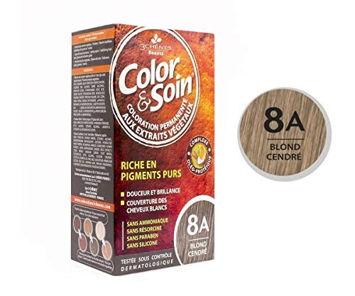 Les 3 Chênes : Color & Soin 8A - blond cendré