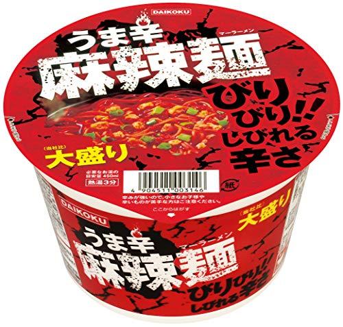 大黒 うま辛麻辣麺大盛り121g ×12個