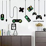 skwff Consola de juegos, juego, mango, decoración, araña, pegatinas de pared, café internet, computadora, escritorio, computadora, fondo, pegatinas