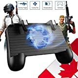 Mobile Game Controller [Upgrade Version] Mobile Gaming Trigger for PUBG/Fortnite/Rules of Survival Gaming