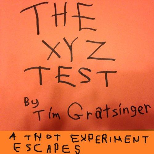 The XYZ Test audiobook cover art