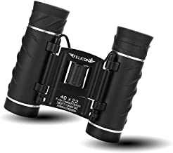 SENMONUS 40x22 Compact Mini Binoculars for Adults, Small Lightweight High Powered Binocular Telescope for Bird Watching Travel Concerts Theater Opera Camping and Hiking, with Weak Light Night Vision