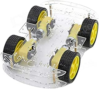 Smart Robot 4 Weel Car Chassis Kit For Arduino