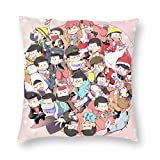 Osomatsu San Design Sofa Dekorative Kissenbezug Set 24 'x