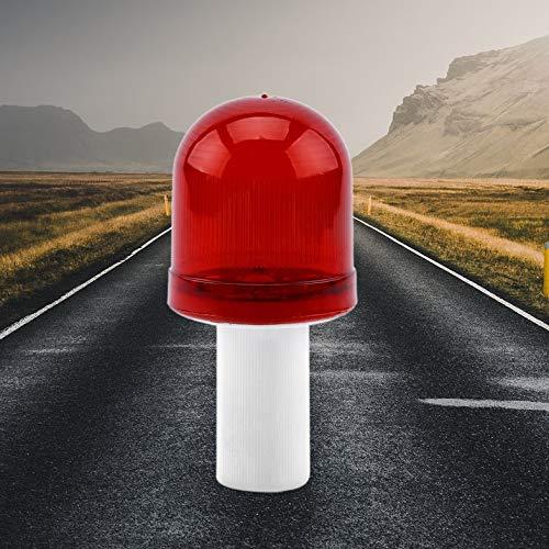 Ultrahelle LED Road Hazard Skip Light blinkt Safty Cone Topper Warnleuchte Road Block Lampe Not Ampel - Rot