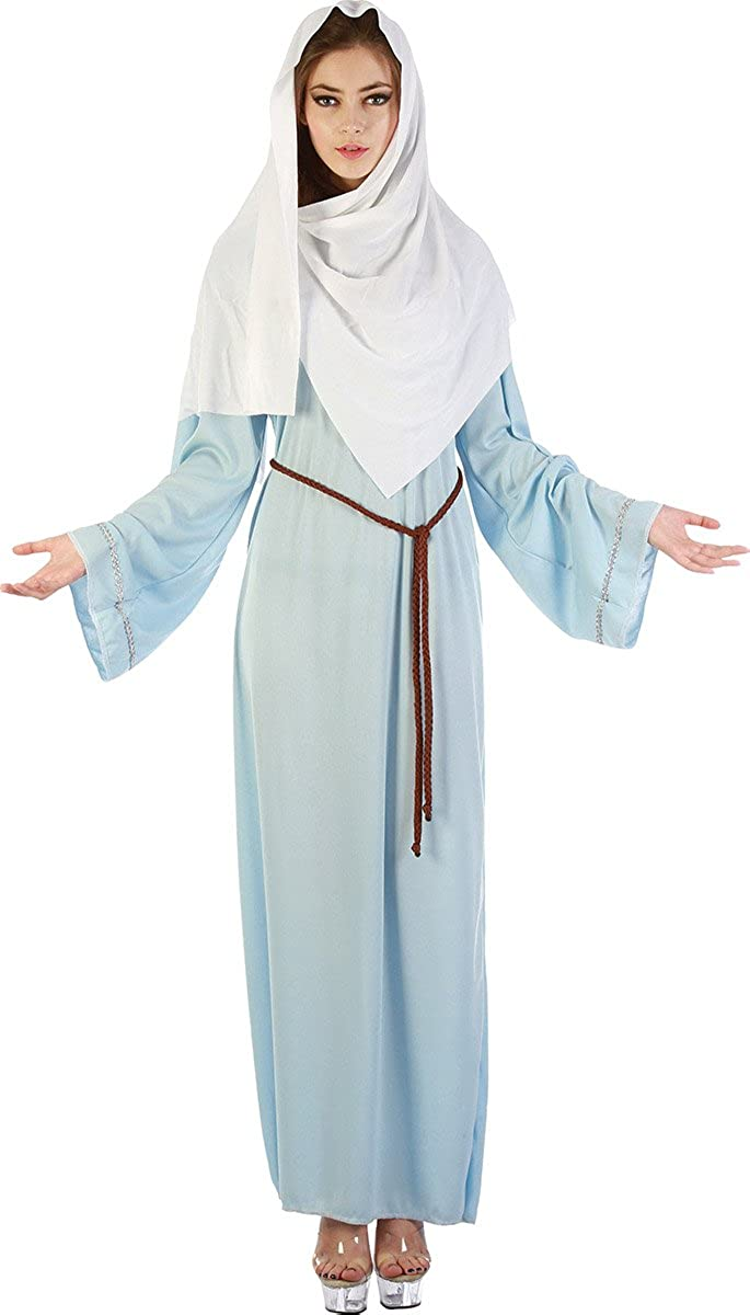 Women's Christmas Deluxe Nativity Holy Fancy Outfit Dress Colorado Springs Mall Virgin Party
