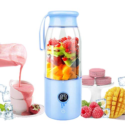 Learn More About LYWWH Portable Juicer Cup, Detachable Personal Blender, USB Rechargeable Fruit Juic...
