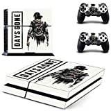 FENGLING Game Days Gone Ps4 Skin Sticker Decal per Dualshock Playstation 4 Console e 2 Controller Skin Ps4 Stickers Vinile