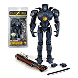 Official NECA merchandise. Includes : Chain sword, oil tanker ship & 2 inter-changable punches. Gipsy Danger: HONG KONG BRAWL Edition Collectible Action Figure Precise intricate design with realistic Gipsy Danger Jaegar Sculpt. Figure stands at a who...