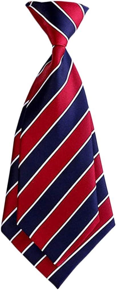 XF Boys' OFFicial mail order Pre-tied Adjustable Neck Strap School Al sold out. Junior Tie Kids
