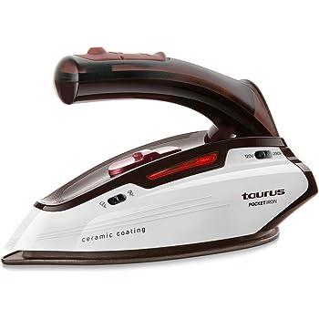 Taurus Pocket Iron Plancha de viaje, 1150 W, diseño mini, ligera ...